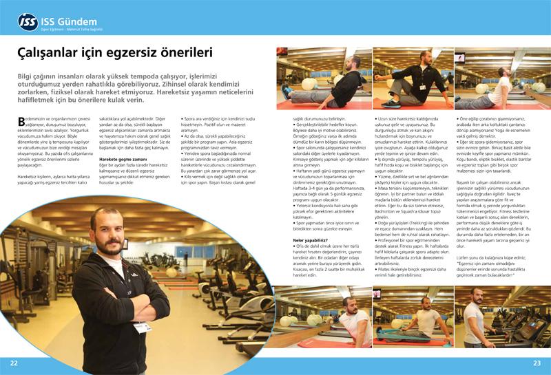 Basinda Sağlıklı ISS Dergi